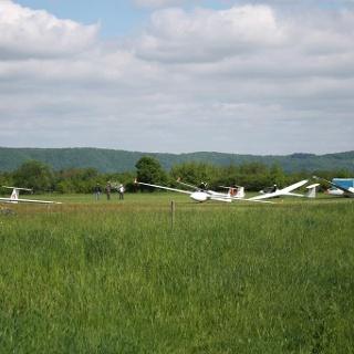 Segelflugplatz Neumagen-Dhron an der Mosel