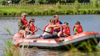 Spaß für Jung und Alt - Schlauchboottouren
