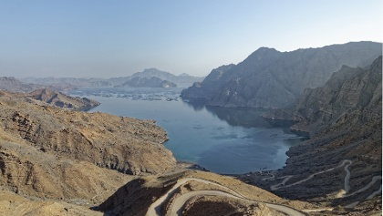 Lake in the Musandam region