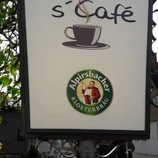 Start beim Café