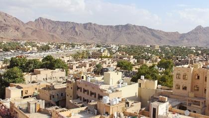 Die Stadt Nizwa in der Region ad-Dakhliyah