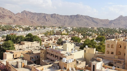 The city of Nizwa is the capital of the region Ad Dakhliyah