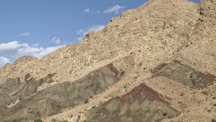 Berg nahe der Stadt Ibri