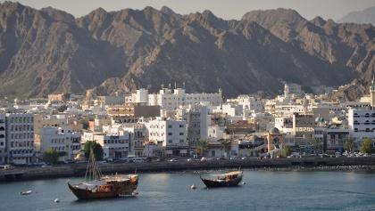 Der Hafen von Maskat