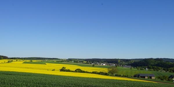 Ausblick am Wiesbachtalweg