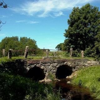Die antike Gejlå Brücke