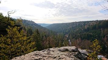 Foto Aussicht vom Großvaterstuhl