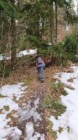 Foto Aufstieg zum Wormsbergweg