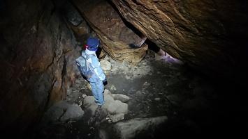 Foto Am Grund der Bennohöhle