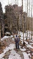 Foto Abstieg nach Ostrov ( Eiland)