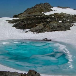 Gletschersee am Sonnklarspitze