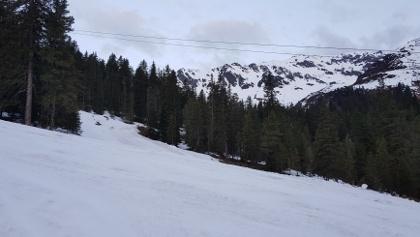 Genügend Schnee für den Aufstieg