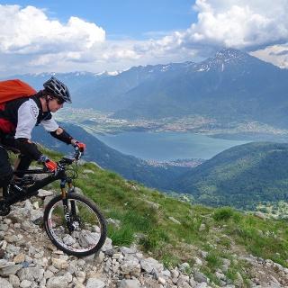 Monte La Motta - Trail bei Bondone