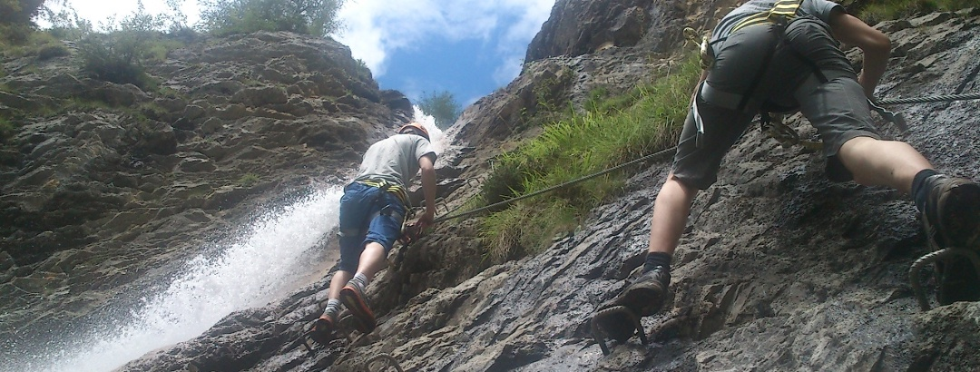 Klettersteig Millnatzenklamm Lesachtal