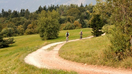 Mountainbiken in Terme di Comano