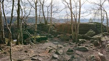Foto Zugang - Aussicht Grenzplatte