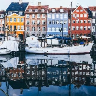 Nyhaven district of Copenhagen