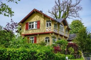 Foto Eine der Sendig-Villen in Ostrau