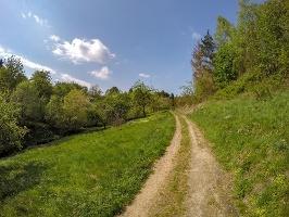 Foto Auf dem Weg von der Dorfbachklamm nach Altendorf