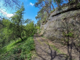 Foto Idylle zwischen der Dorfbachklamm und Altendorf