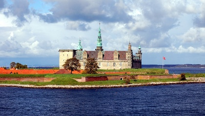 Kronborg castle in Helsingor