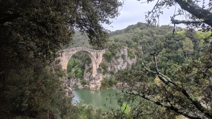 Pont de Llierca bridge