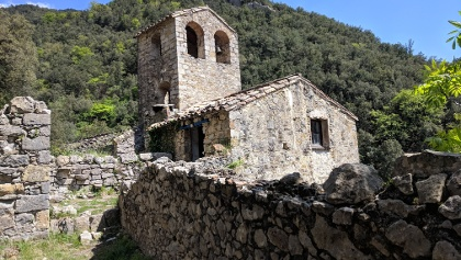 The remains of Santa Maria d'Escales
