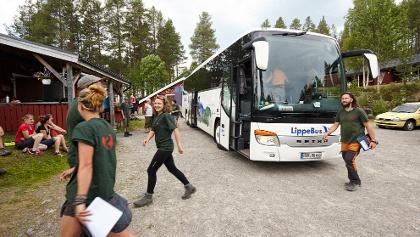 Mitfahrgelegenheit im Reisebus von Deutschland nach Värmland