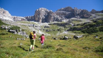Wandern in Val Ambiez in den Brentadolomiten