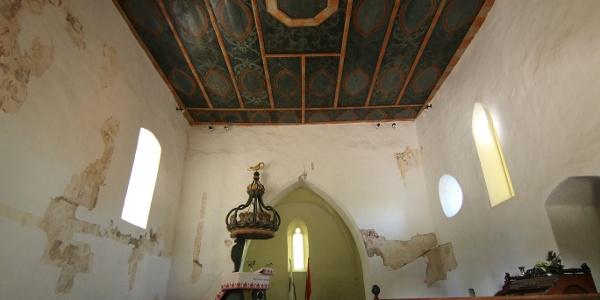 A református templom Vámosatyán