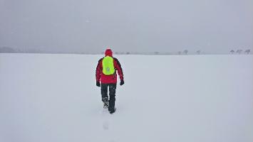 Foto Auf dem (verschneiten) Mühlsteig