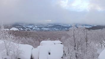 Foto Südwest-Aussicht vom Hohen Schneeberg