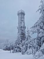 Foto Aussichtsturm auf dem Hohen Schneeberg
