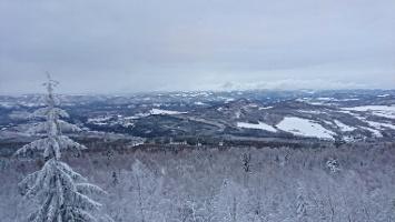 Foto Aussicht vom Gipfel des Hohen Schneeberg