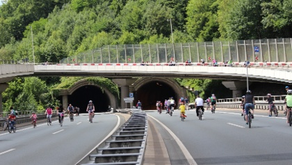 Siegtal pur - am Ziegenbergtunnel in Siegen