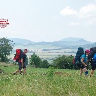Fjällräven túrázók a Balaton-felvidéken