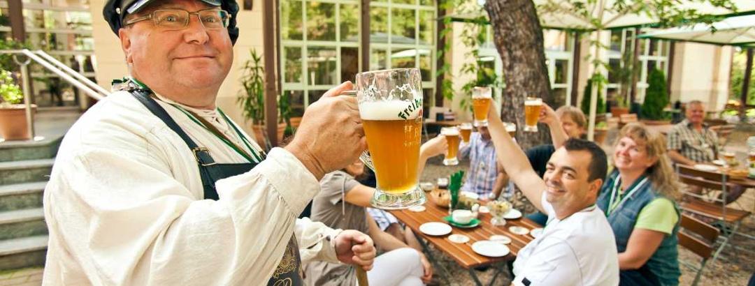Hopfen und Malz- Freiberg erhalt`s! Bierführung in Freiberg