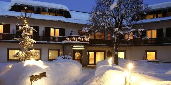 Rosentaler Hof im Winter