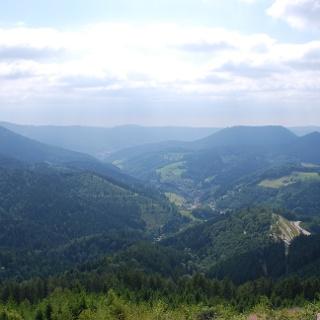 Ausblick vom Westweg nach Bad Peterstal-Griesbach