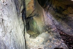Foto Tief geht es in die Punkenhöhle hinein