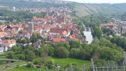 Blick auf Besigheim vom Panoramaweg