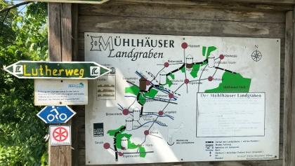 Eigenrieden - Start des Mühlhäuser Landgrabens