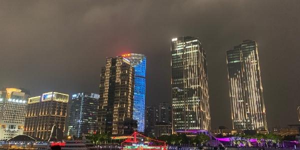 Skyline von Pudong, Shanghai