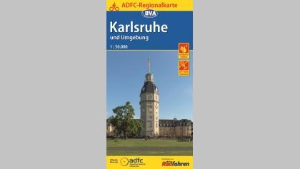 Karlsruhe Karte Umgebung.Karlsruhe Und Umgebung