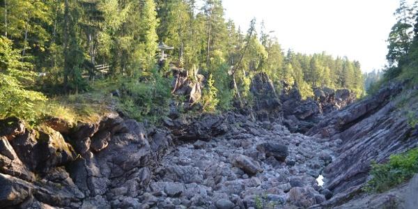 Site 2. Imatrankoski Old rapid channel