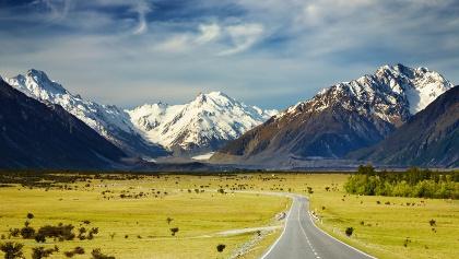 Südliche Alpen Neuseeland