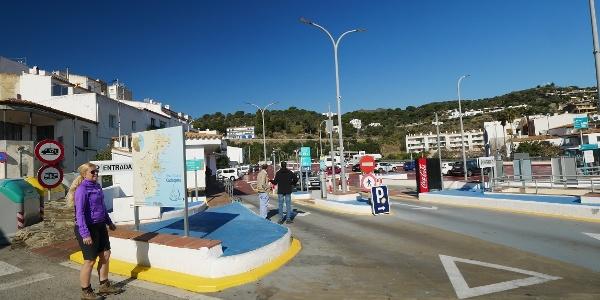Gran aparcamiento en Cadaqués