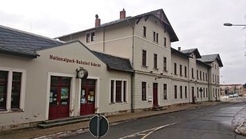Foto Nationalparkbahnhof Sebnitz