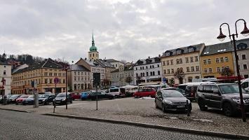 Foto Marktplatz von Sebnitz