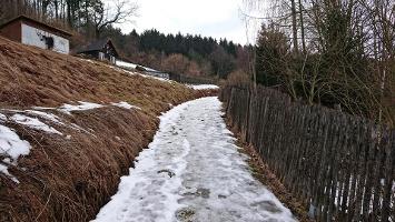 Foto Aufstieg aus Sebnitz heraus